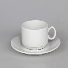 C1627 Кофейный набор 100 мл. на 1 персону 2 предмета Мокко (6С1627Ф34) Белье Белый