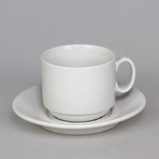C1628 Чайная пара Экспресс 220мл (6С1628Ф34) Белье Белый