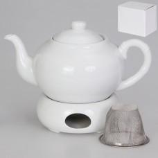 IM56-0001 Чайник заварочный с подогревом с металлическим фильтром 1 л.
