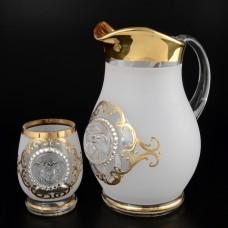 08744/набор Набор для воды 7 предметов (кувшин + 6 стаканов для воды)