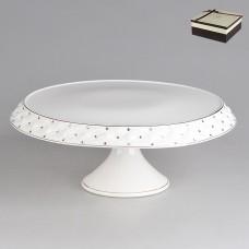 IM553040 Блюдо для торта на ножке 33 см.