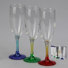 H8372 Набор фужеров для шампанского 3шт 170мл