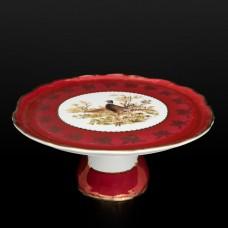 11479 Тарелка для торта на ножке 32 см Фредерика