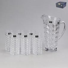 20940 Набор для воды 7 предметов (кувшин + 6 стаканов)