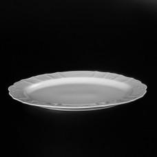 11157 Блюдо овальное 36 см Бернадотт Недекорированный