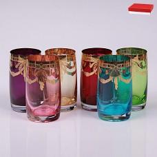 19227 Набор стаканов для воды 250 мл. 6 шт. Анжела Арлекино