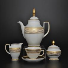 10130 Чайный сервиз на 6 персон 17 предметов St. Peterburg Gold