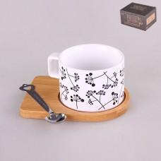 IM99-0529 Кружка с подставкой и ложкой