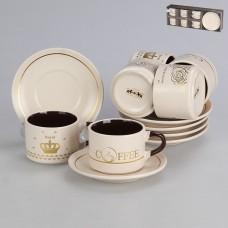 756-107 Кофейный набор на 6 персон 12 пр 150 мл