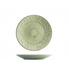8433703 Тарелка десертная Патио зеленая d=21 см