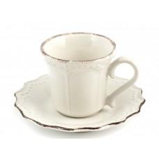 9795059/набор Набор кофейных пар Айвори v=180 мл 6 шт