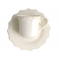 9795061/набор Набор чайных пар Айвори v=220 мл 6 шт