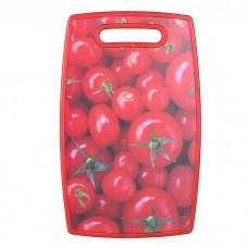 IM99-4713/3 Доска разделочная 37*23 см. (красная,томат)