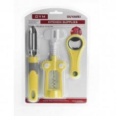 IM99-4726/желтый Набор кухонный 3 предмета