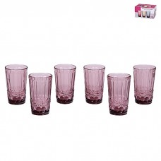 IM99-5703 Набор стаканов для воды 6 шт 350 мл МИКС