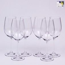 02B4G001350 Набор бокалов для вина 350 мл. 6 шт. Degustation Прозрачный