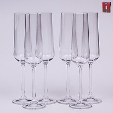 02B2G003235 Набор бокалов для шампанского 235 мл. 6 шт.