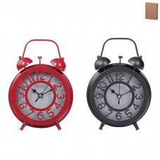 IM99-2918 Часы - будильник (6 дизайнов микс) d=14,5 w=6см.