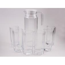 IM99-5720 Набор 7пр: кувшин 1,1 + 6 стаканов 200 мл