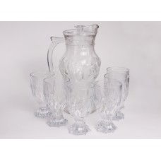 IM99-5721 Набор 7пр: кувшин 1,8 + 6 стаканов 280 мл