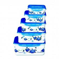 IM99-1406/синий Набор контейнеров прямоугольных