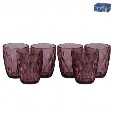 IM99-5706/бордо Набор стаканов для воды 6 шт 320 мл