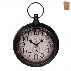 IM99-2919/черный Часы настенные l=16см, h=21см, w=4см