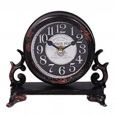 IM99-2917/черный Часы d=14,5 w=6см.