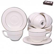 IM99-5283 Набор чайный 12пр Золото