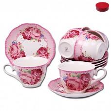IM56-2122 Набор чайный 12 пр.250 мл Чайная роза