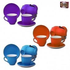 IM99-5292 Чайный набор 12 предметов 250мл МИКС
