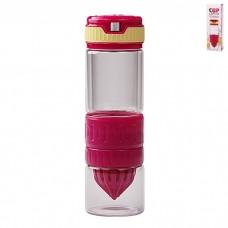 IM99-5420/красный Бутылка для воды и приготовления напитков 600 мл