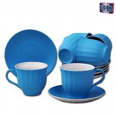 IM99-5292/синий Чайный набор 12 предметов 250мл