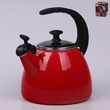 37111 Эмалированный чайник 2,5 л с индукционным дном