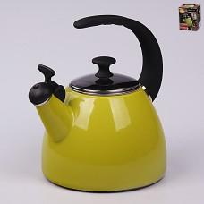 37113 Эмалированный чайник 2,5 л с индукционным дном