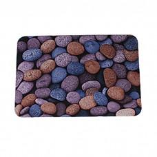 IM99-5028/камушки синие Коврик придверный 40*60 см