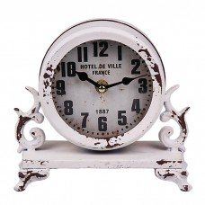 IM99-2941/белый Часы настольные 9*16*18 см