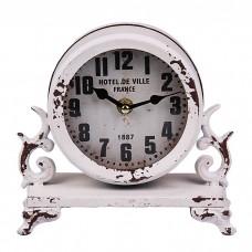 IM99-2941/голубой Часы настольные 9*16*18 см