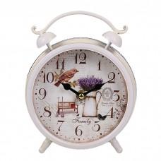 IM99-2939/белый Часы настольные 16CM Роза Белый