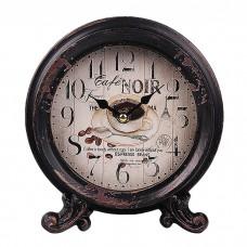 IM99-2943/цветы Часы настольные 18,5*8 см