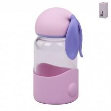 IM99-5422/розовый Бутылка для воды 300 мл 4 цвета