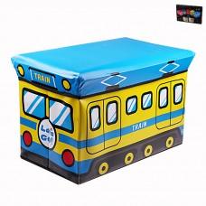IM99-1710 Ящик для игрушек в п/у l=49см,w=31см,h=31см TRAIN