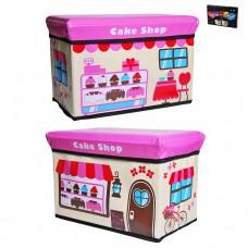 IM99-1717 Ящик для игрушек в п/у l=40см,w=25см,h=25см CAKE SHOP