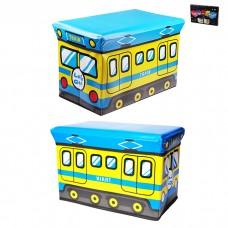 IM99-1719 Ящик для игрушек в п/у l=40см,w=25см,h=25см TRAIN