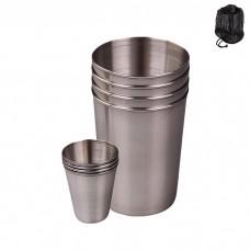 IM99-5432 Набор стаканов и стопок 8 предметов (стакан=280мл,стопка=110мл)