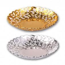 IM99-1410/золото Блюдо круглое d=32см,h=4см