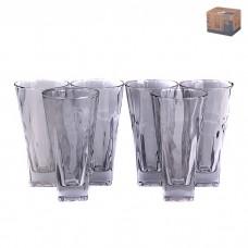 IM99-5753 Набор стаканов стеклянных 6шт 8*8*16см