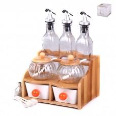 IM99-2255 Набор кухонный 12 предметов на деревянной подставке
